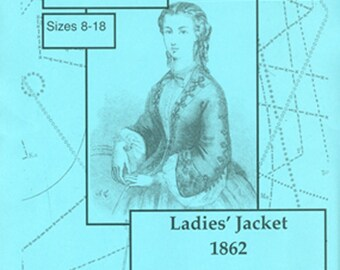 KFII:262.06A Ladies' Jacket, 1862, size 8-18