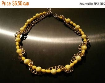Sale Sale Sale Mellow yellow necklace