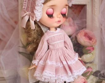 Primavera Blythe Dress Pink Set