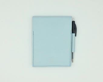 Sky blue notebook
