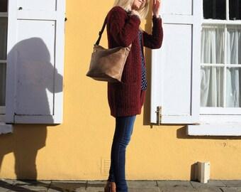 Light Brown Bag, Leather Messenger, Leather Bag, Brown Leather Bag, Brown Messenger Bag, Brown Leather Purse, Brown Bag , Brown Handbag