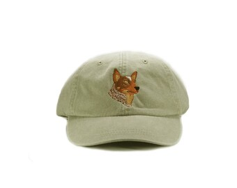 Australian Cattle Dog embroidered hat, baseball cap, dog lover gift, mom cap, dog mom, gift for pet lover, dad hat, dog agility, red heeler