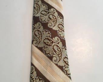 Vintage Mens Polyester Tie