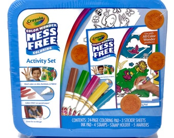 Crayola Color Wonder Mess Free Coloring Activity Set