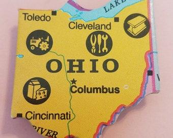 Ohio Puzzle Piece Magnet