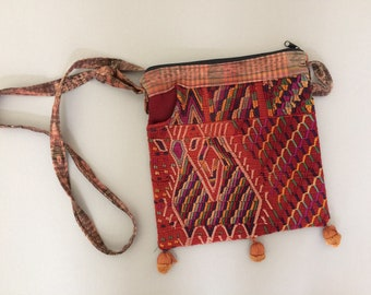 vintage tribal cross body handbag purse / Boho / Hippie