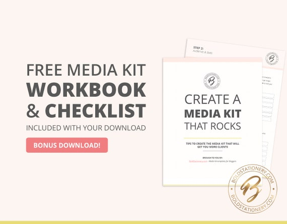 Blog media kit template 01 ad rate sheet template press blog media kit template 01 ad rate sheet template press kit pitch kit pronofoot35fo Images