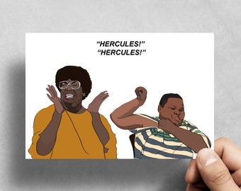 Nutty Professor - Greeting cards - Handmade - Pop culture - All Occasion Cards - Funny Greeting Cards - Eddie Murphy - 90's - Hercules
