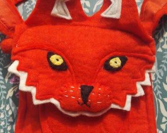 Felt Fox Handbag