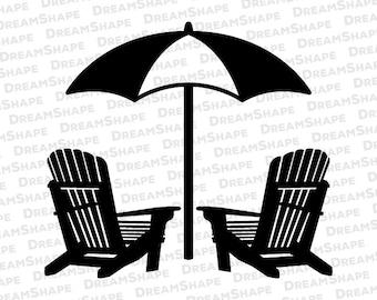 Beach chair svg Etsy