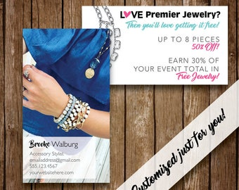 Premier designs card etsy personalized print and digital business cards premier designs marketing business card free personalization colourmoves