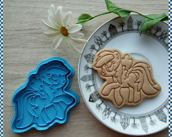 Cartoon Pony cookie cutter