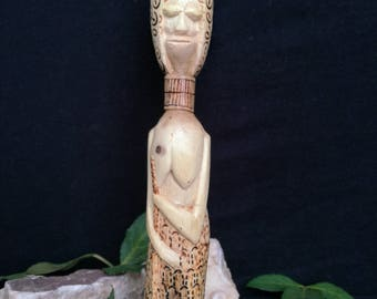 hand made statue of wood
