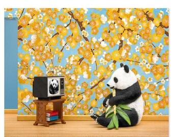 30% OFF SALE Panda animal art print: Animal Planet