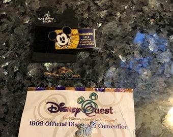 Walt Disney Pin Disney Quest