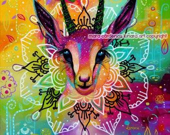 Gazelle Medicine Mandala