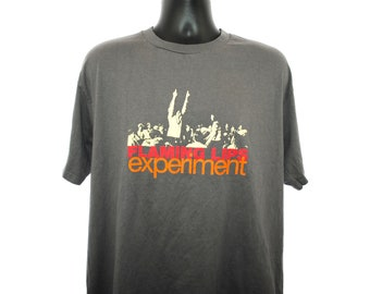 1997 The Flaming Lips Vintage Zaireeka Era The Parking Lot Experiments Groundbreaking 90's Listening Party Concert Event Promo T-Shirt