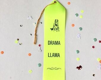 Drama Llama - Adult Award Ribbons
