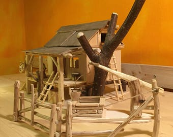 Wild West Model building/play House