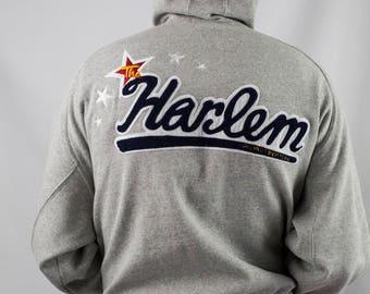 Vintage Platinum FUBU Harlem Globetrotters Hoodie Size L