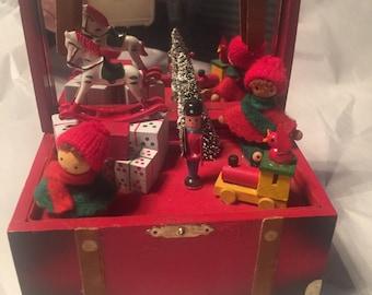 Red Toybox Music Box