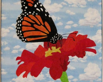 Monarch Butterfly Fabric Picture
