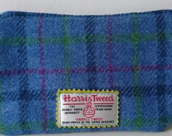 Harris Tweed little coin purses with zip closure