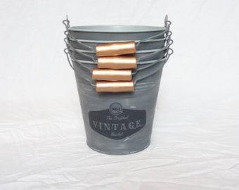 Vintage bucket (Dusty gray)