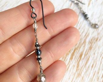 Earrings Handmade, Long Earrings, Hypoallergenic Earrings, Boho Jewelry, Hippie Jewelry, Boho Clothing, Boho Wedding Jewelry Dangle Earrings