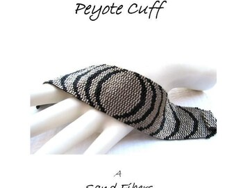 3 for 2 Program - Repercussion Peyote Cuff - For Personal Use Only PDF Pattern