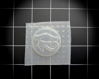 Eye of Horus Eye of Ra Egyptian Amulet Resin Mold