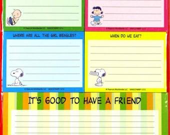 Peanuts Gang Sticky Note Set