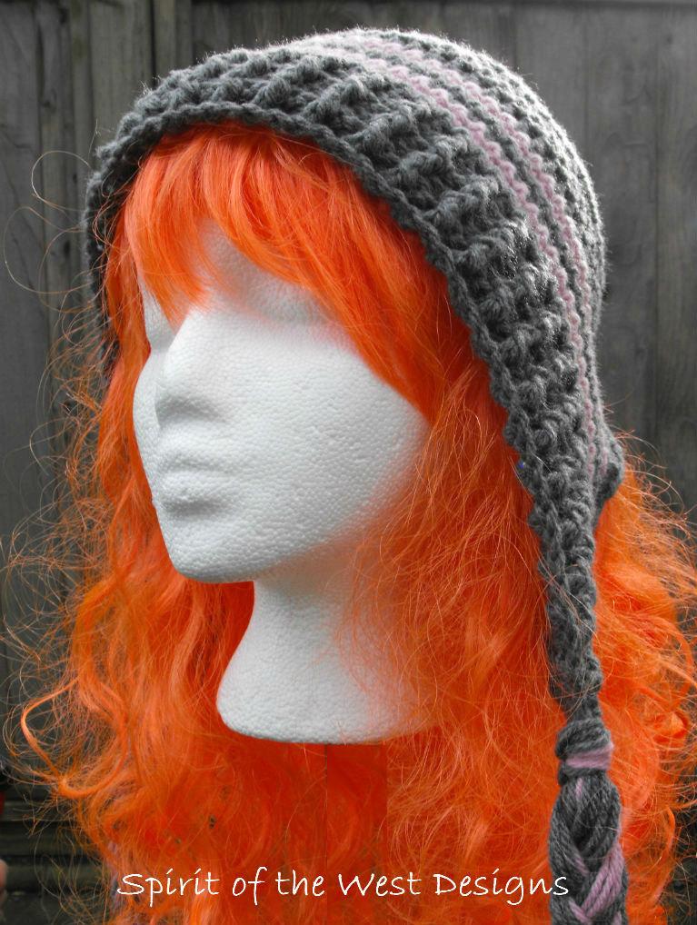 Crochet Earflap Hat Pattern Child Teen Adult Sizes Bonnet with ...