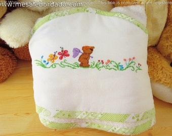 Baby Hooded towel, baby towel,hooded towel,baby bath towel,baby boy towel,baby girl towel,kids towel,children towel,teddy bear towel