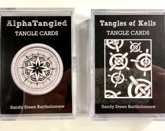 Tangle Cards - Tangles of Kells - card pack
