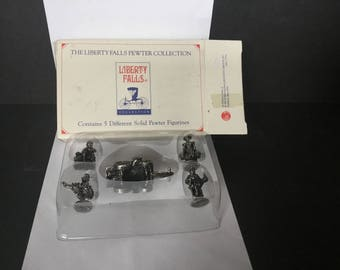 Liberty Falls Pewter Figurines - 1996