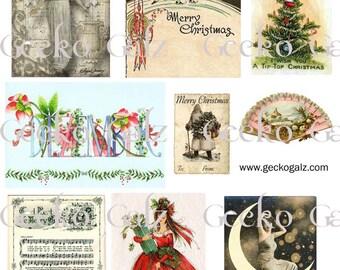 December Magic Collage Sheet