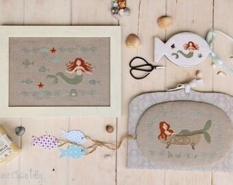 Mermaid - Cross stitch Chart