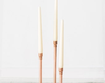 Trio Tall Candle Holder Centerpiece - Weddings