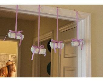 Diaper Decor (Baby Shower)