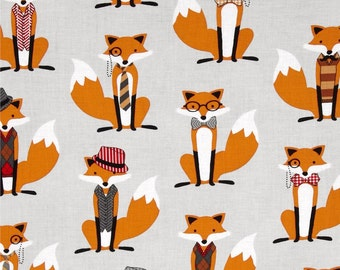 Grey Fox and the Houndstooth from Robert Kaufman