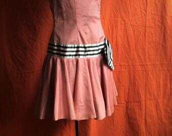 Magical Taffeta Circus Acrobat Dress