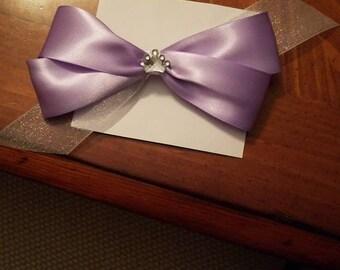 Disney Princess Sofia Inspired bow
