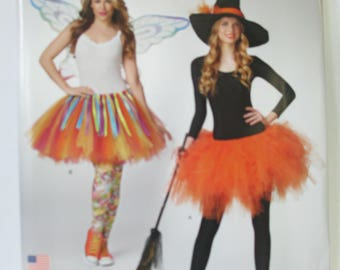 Halloween fairy and witch Costmes Paper Pattern Simplicity SO320 Adult one size   un-cut paper pattern