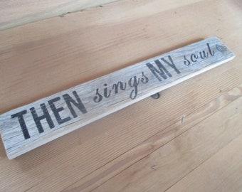 Farm house barn wood sign