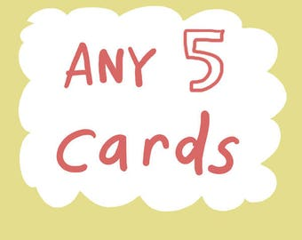 Get 5 of any card DEAL