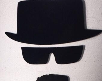 Heisenberg Breaking Bad Glass