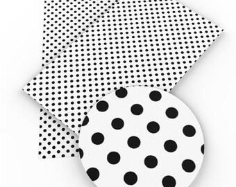 Dot dot dot white  aqua pink sinthetic leather