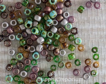 Forest Mix Too 6/0 Toho Seed Bead Mix - 16 grams - Forest 2 Mix 6/0 Seed Beads - 4207 - Exclusive to SupplyEmporium