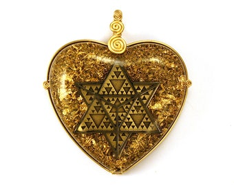 Star Tetrahedron (Geometry of the Merkaba) collaboration with Alternative Intelligence - Orgone Pendant